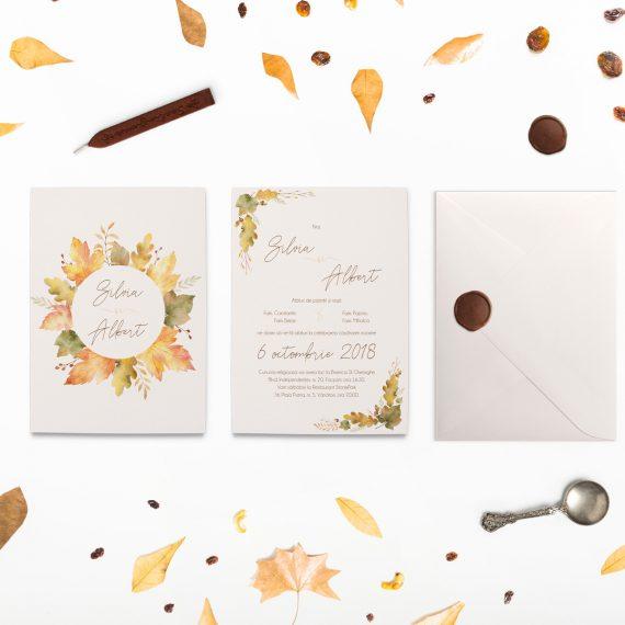 Invitatii de nunta Atumn Wedding