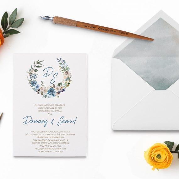Invitatii de nunta Fancy Autumn