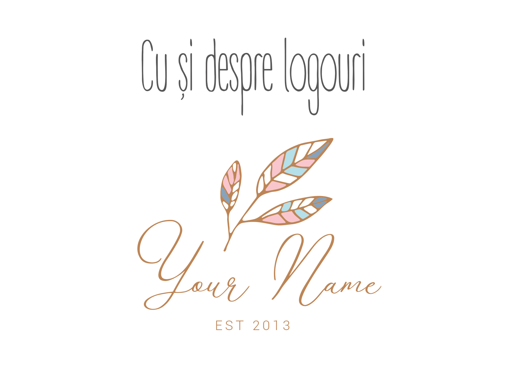 Logo. Din perspectiva graphic designerului
