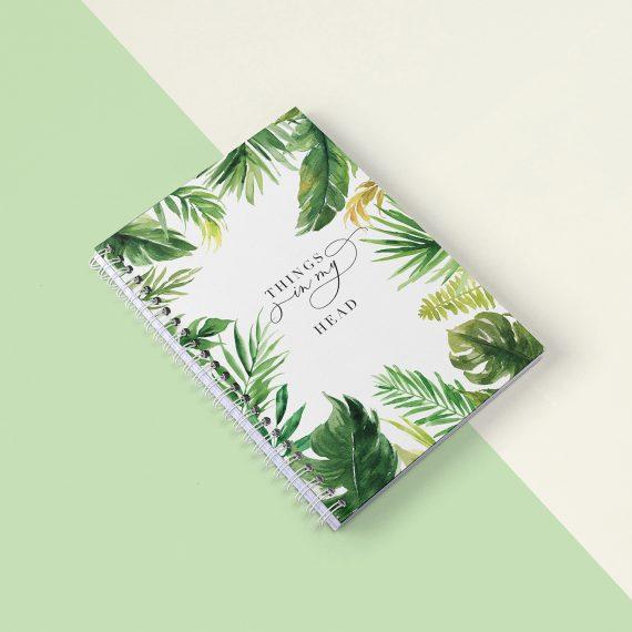 Agenda Planner 2019 Tropical